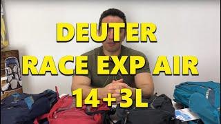 Deuter Race / black-white - відео 3