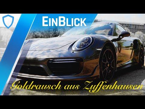 Porsche 911 Turbo S Exclusive Series (2017) - Gold und Carbon für den Scheich