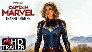 Captain Marvel - TEASER TRAILER - Brie Larson, Gemma Chan Film (CONCEPT)