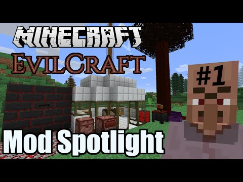 Evilcraft Mod Spotlight (Part 1) - Werewolves, Blood infusion & Purification.
