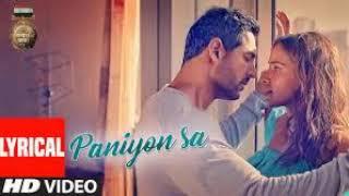 PANIYON SA Full Song | Satyameva Jayate  | John Abraham | Aisha Sharma | Tulsi Kumar | Atif Aslam