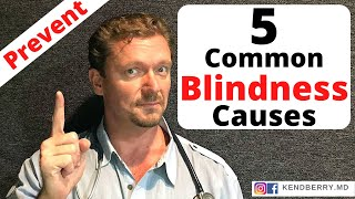 5 Most Common Causes of BLINDNESS (Prevent/Reverse) 2020