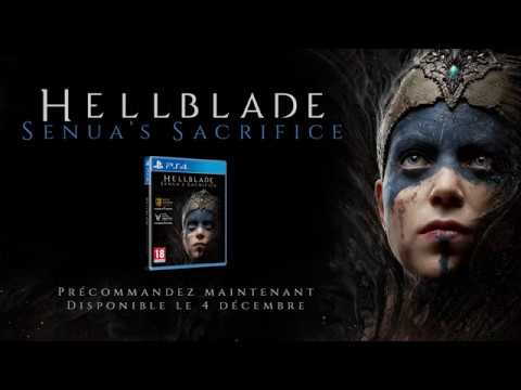 Annonce version physique PS4 de Hellblade : Senua's Sacrifice