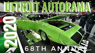 2020 Detroit Autorama - HUGE SHOW & THE GREAT 8 !!!
