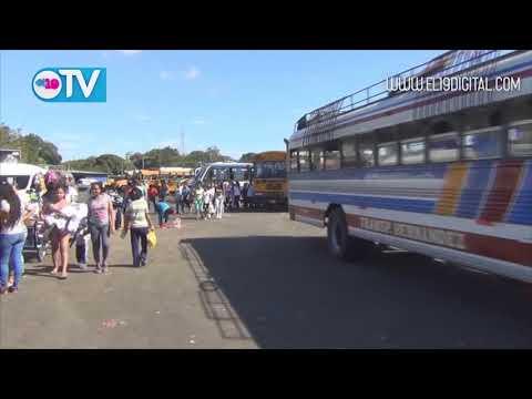 Alcaldía mejora salida de la terminal de buses