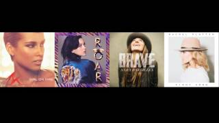 Fight Song Mashup - Rachel Platten, Alicia Keys, Katy Perry, Sara Bareilles