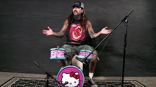 Mike Portnoy: Name That Tune On Hello Kitty Drum Kit