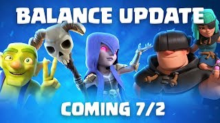 Clash Royale: Balance Update Live! (7/2)