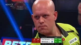 Michael Van Gerwen Vs Simon Whitlock | Round 2 | World Matchplay Darts 2020