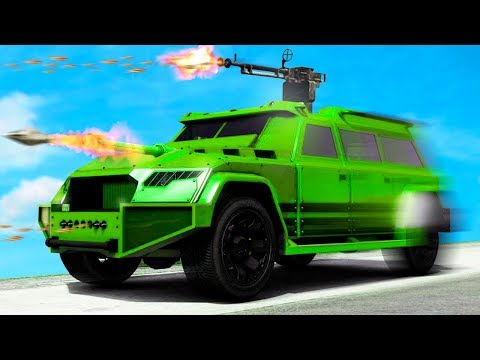 NEW $2.000.000 INDESTRUCTIBLE BATTLE TRUCK! (GTA 5 DLC)