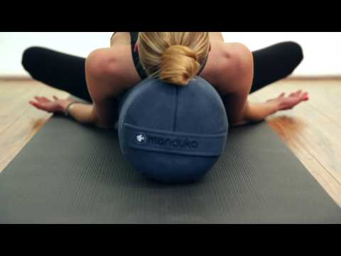 Manduka - Enlight™ Lean joogabolsteri, midnight