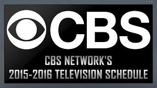 2015-2016 CBS TV Season Shows Breakdown – (Group Meeting #23.2)