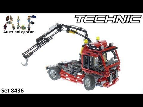 Vidéo LEGO Technic 8436 : Le camion