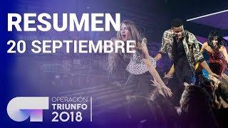 Resumen diario OT 2018 | 20 SEP