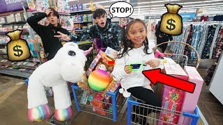 Little Sister Steals Our Credit Card And Spends $5,000 On Toys!