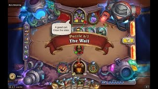 Solution Puzzle Lab Lethal: The Wall - Myra Rotspring (6/7), Hearthstone Boomsday