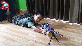 น้องบีม | รีวิวของเล่น EP172 | ปืนกลทหาร