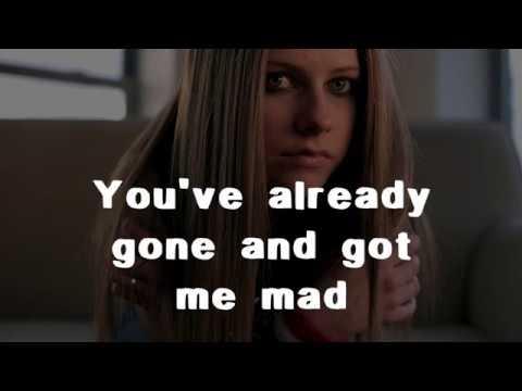 Avril Lavigne - Get Over It (Lyrics)