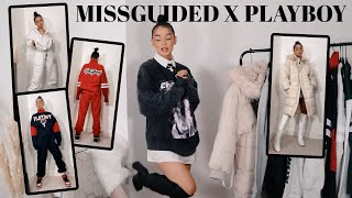 BRAND NEW PLAYBOY X MISSGUIDED TRY ON HAUL & NEW IN *OBSESSED* AD