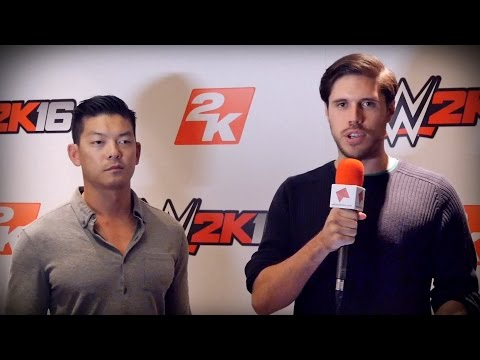 WWE 2K16 - Exclusive Interview With Bryce Yang