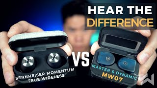 Sennheiser Momentum True Wireless vs Master & Dynamic MW07 - Earbuds Comparison Review