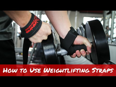How to Use Weightlifting Straps