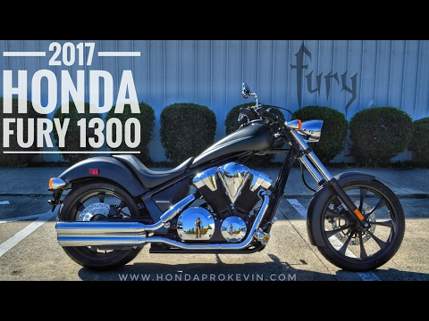 2017 Honda Fury 1300 Review of Specs / Walk-Around | Chopper / Cruiser Motorcycle – VT13CX