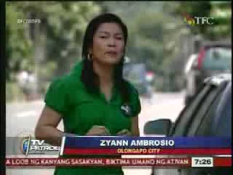 Olongapo News: Former Sexy Star Angela Perez Ran Over Two People!