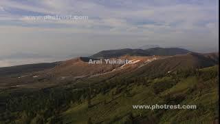 草津白根山の動画素材, 4K写真素材