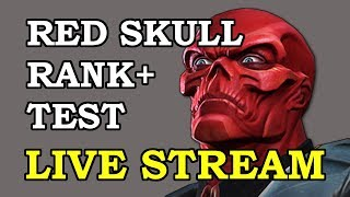 Ranking and Testing Red Skull LIVE | Marvel Contest of Champions Live Stream