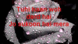 mujhe de de har gham tera lyrics - YouTube