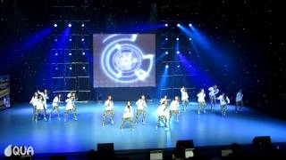 AQUA | Firecrackers | 1st Place - Kids Hip Hop Formation @ Dance Fest Novi Sad 2012