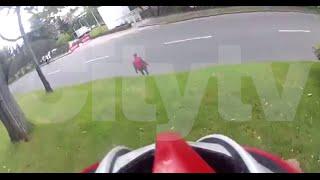 preview picture of video 'Ciclista grabó la persecución a un presunto ladrón en Bogotá'