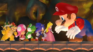 What If Other Characters Fought All Bosses In New Super Mario Bros Wii