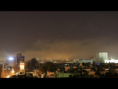 Amateur Footage Shows Missiles Falling Over Damascus As Airstrikes Begin Mp3