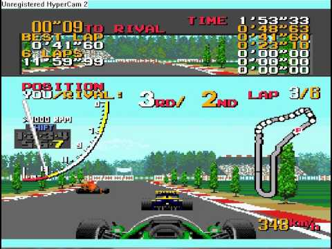 Ayrton Senna's Super Monaco GP 2 - World championship (part 12, Italy)