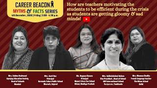 How are teachers motivating the students to be efficient during the crisis as students are getting gloomy & sad minds!