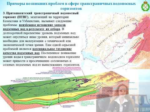 INDUSTRY-2020. Разработка международной системы управления добычей подземных вод на трансграничных территориях в условиях цифровизации