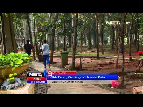 NET5 Olahraga di Taman Kota BSD Tangerang