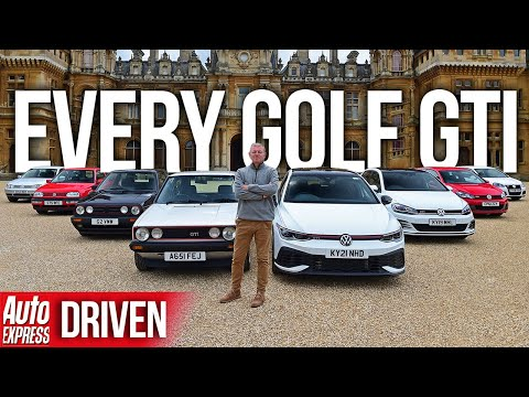 Every generation of VW Golf GTI: which is best of all? | Auto Express