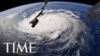 Incredible Images Of Hurricane Florence Captured From The International Space Station   TIME
