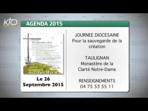 Agenda du 21 septembre 2015