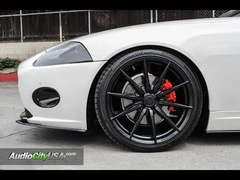 "Jaguar XK 2009 On 20"" Rohana Wheels"