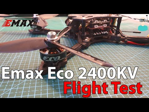 Emax Eco 2306 2400KV Motors - Flight Footage