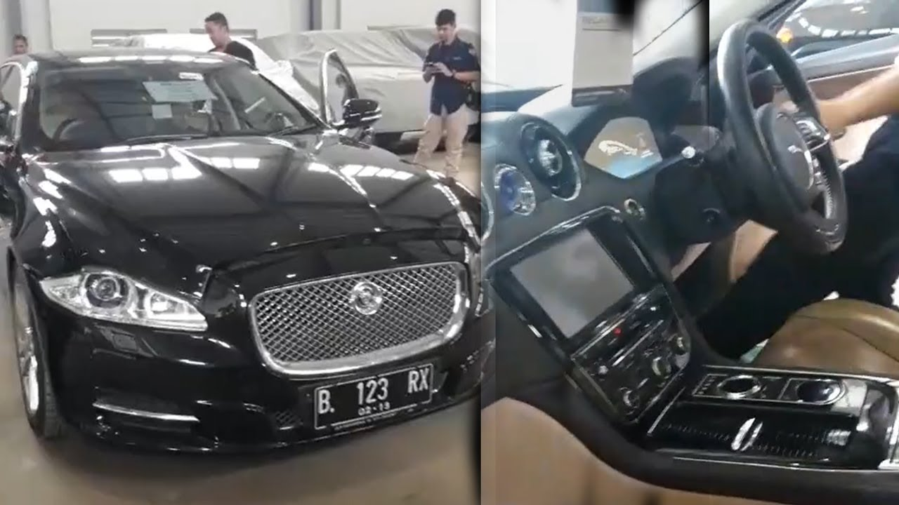 Inilah Mobil Jaguar Milik Sanusi yang Dilelang KPK, Harganya Cuma Rp 400 Jutaan