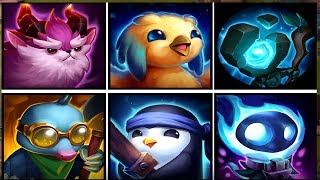 Little Legends Leveling + Champion Cost Guide - Team Fight Tactics League of Legends Auto Chess lol