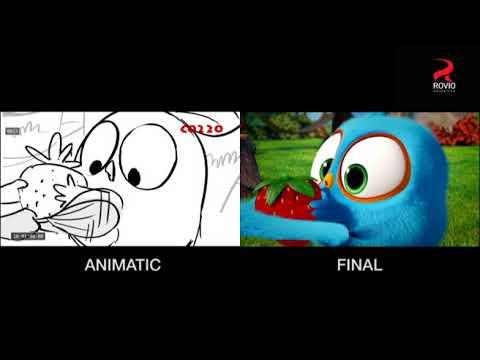 Angry Birds Blues - Top 10 Cutest Moment - смотреть онлайн