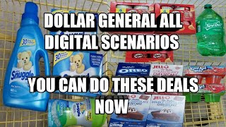 DOLLAR GENERAL ALL DIGITAL DEALS  YOU CAN DO THESE DEALS NOW