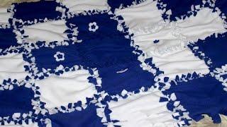 Make a Cozy Patchwork Fleece Throw - DIY Crafts - Guidecentral