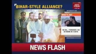 Rahul Gandhi Bats For Akhilesh Yadav  CongressSP Alliance In UP
